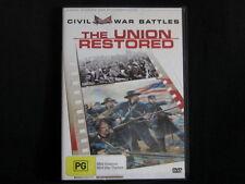 The Union Restored. The Civil War. Documentary. DVD. Made In Australia