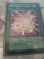 Yugioh Overload Fusion Ultimate Rare 1st Edition VLP POTD-EN042 with tracking