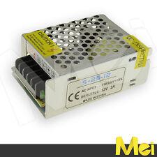 H002 ALIMENTATORE per striscia o barra LED 3528 5050 5630 stabilizzato trimmer