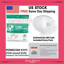 Powecom Kn95 Portective Face Mask Fda Eua Authorized 95% Filtertion Efficiency