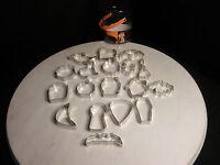 Wilton Halloween 18 Piece Metal Cookie Cutter Set