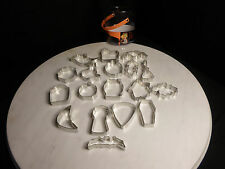 Wilton Halloween 18 Piece Metal Cookie Cutter Set
