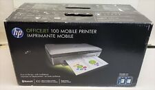 NEW - HP OfficeJet 100 Mobile Inkjet Bluetooth Printer