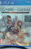 Jeu PS4 L Ombre De La Guerre Definitive Edition NEUF Scellé