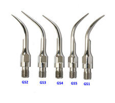 5PCS Sirona Scaling Tip GS1+GS2+GS3+GS4+GS5 Dental Scaler Tip Fit Sirona machine