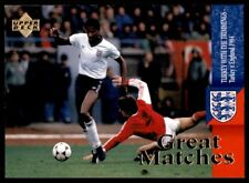 Upper Deck England 1998 - Great Matches Turkey - England 1984 # 50