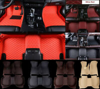 For Nissan Juke Nismo Car Floor Mats Carpets Custom Luxury FloorLiner Mats 13-18