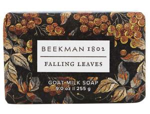 Beekman 1802 FALLING LEAVES Goat Milk Bar Soap 9 oz