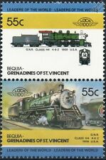 1909 GNR Class H4 4-6-2 (Great Northern Railway) Train Stamps / LOCO 100