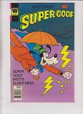 Walt Disney's Super Goof #46 VF/NM april 1978 - super mind - whitman variant