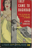POCKET BOOK 897 Vintage Paperback THEY CAME TO BAGHDAD Agatha Christie MYSTERY