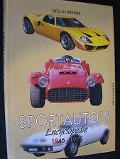 R&B Geïllustreerde Sportauto's Encyclopedie 1945 - 1975 De La Rive (Nederlands)