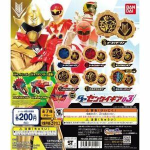 Kikai Sentai Zenkaiger GP SENTAI GEAR Vol.3 Complete Set of 7 Bandai NEW F/S