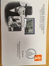 Churchill cover  1990  with 1965 stamp.Attractive