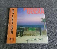 Nick De Caro Private Ocean JAPAN MINI LP CD SEALED