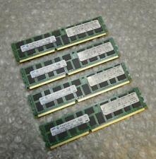 16GB IBM Samsung 46C7452 43X5055 PC3-8500R DDR3 4Rx8 ECC Server Memory RAM Kit