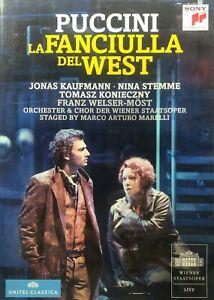 Giacomo Puccini La fanciulla del West  - Opera DVD Music All Regions