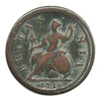 KM# 549 - Halfpenny - 'Dump' Issue - George I - Great Britain 1718 (Fair) 8/7?