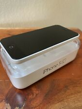 Apple iPhone 5c- 16GB - White A1532 (GSM) AT&T With Box (Glitchy Screen)