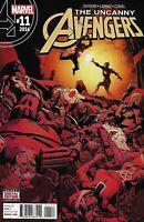 The Uncanny Avengers Comic Issue 11 Modern Age First Print 2016 Duggan Larraz