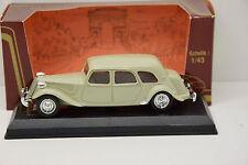 CITROEN TRACTION FAMILIALE 15 CV 1955 ELYSEE 1/43 NEUVE EN BOITE MONTAGE USINE