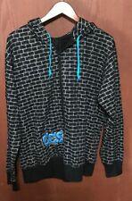 CCS Skateboard Bricks Hooded Sweatshirt Jacket Coat XL ~*~ EXCELLENT ~*~ Tub20