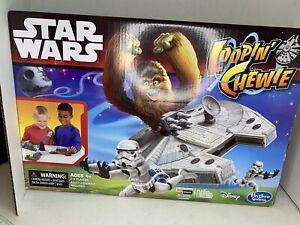 Star Wars Loopin' Chewie Disney Hasbro Battery Operated Game Tested And Working