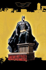 DC UNIVERSE BATMAN BEGINS On Rooftop Statue Maquette Mint In Box ...