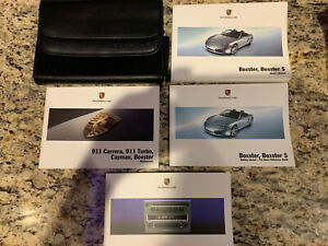 2008 Porsche Boxster / Boxster S Owners Manual Set With Case OEM