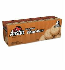 Austin Toasty Snack Crackers with Peanut Butter (45 ct) Individual Packs
