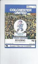 Reading Away Team Third Division Football Programmes
