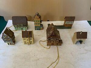 Konvolut, H0/N, Häuser, Haus, Fachwerkhäuser, etc., ansehen, Schnäppchen !!!