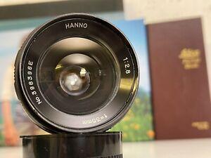 HANNO Hanno 1:2.8/35mm 35 mm F2.8 2 8 M42 M 42 Lens Objektiv Weitwinkel Wide