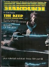 Starburst No.58 1983 STAR WARS RETURN OF THE JEDI, EVIL DEAD, HAUNTING