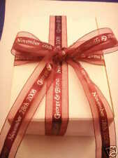 """15 yards continuous print PERSONALIZED RIBBON 7/8"""" wide"""