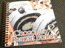 Chocolate & Peanut Butter Cookbook photo recipes, desserts easy 2 make YUMMY