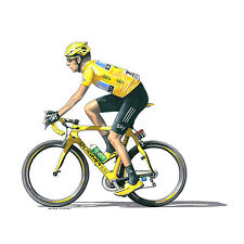 Bradley Wiggins - Great Britain's 1st Tour de France Winner - 2012 Greeting Card