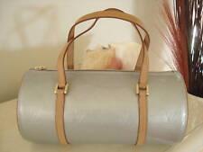Women's 100% AUTH Louis Vuitton SILVER VERNIS Leather Bedford Bag Handbag Purse