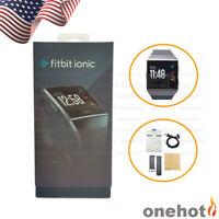 Fitbit Ionic Smart Watch Wireless Bluetooth GPS Heart Rate CHARCOAL&SMOKE GRAY