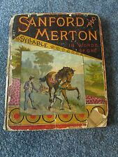 Sanford Merton IN WORDS OF ONE SYLLABLE Godolphin c1870