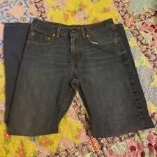 LEVIS 527 Boys Blue Denim Jeans - 12 REG  26 X 26