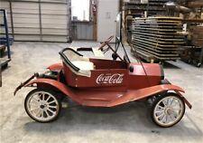 Model T Go Kart, Shriners/Tin Lizzie Car, Coca Cola, Gas Powered, Motorized Car,