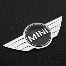 Stemma Logo Emblema Cofano Anteriore Baule Mini Cooper Metallo Biadesivo