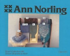 Scarf Collection #6 Scarves to KnitKnitting Instruction Patterns Ann Norling #52