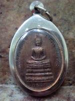 Phra Buddha Angkirot King Rama 5 Wat Rachabopit B.e.2529 Thai Talisman Amulet