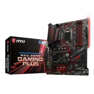 MSI MPG Z390 GAMING PLUS Intel 9th Gen Coffee Lake m.2 NVMe ATX DDR4 Motherboard