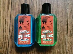Je1 Fl. Dapper Dan Hair Tonic Green+Blue Travel Size 100ml          100ml=7,95E