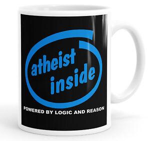 Athiest Inside Funny Coffee Mug Tea Cup