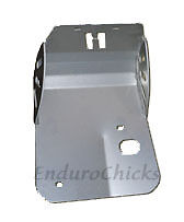 Ricochet Aluminum Skid Plate-Husaberg FX/FE/FC 400/450/501/600/650 (97-08), #701