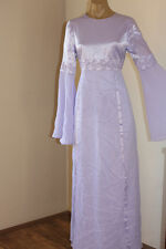 VINTAGE PIPE EMBROIDERED WHISPY BELL SLEEVE FESTIVAL PARTY DRESS 12